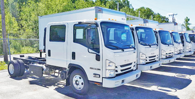new isuzu trucks chassis cabs
